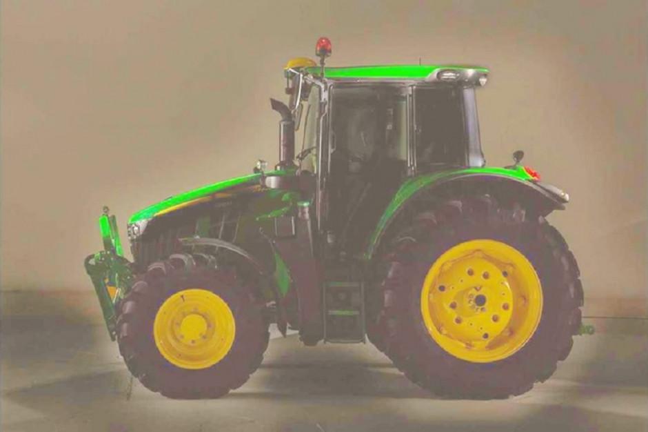 Na zdjęciu prawdopodobnie nowa odsłona traktorów John Deere 6M w wersji 4-cylindrowej, fot. materiały prasowe