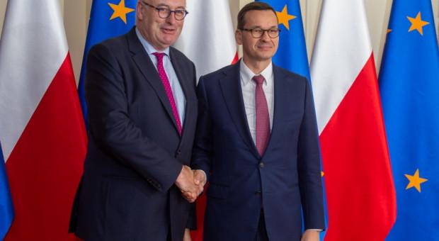 Wspólna Polityka Rolna i kandydatura Wojciechowskiego - tematami rozmów Morawieckiego i Hogana