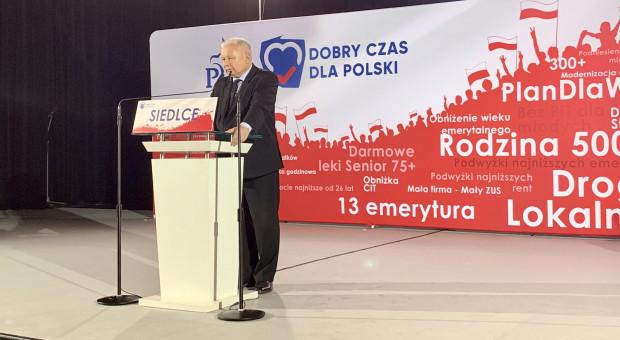 Kaczyński: nie chcemy, by Polska stała się terenem gospodarki wielkoobszarowej