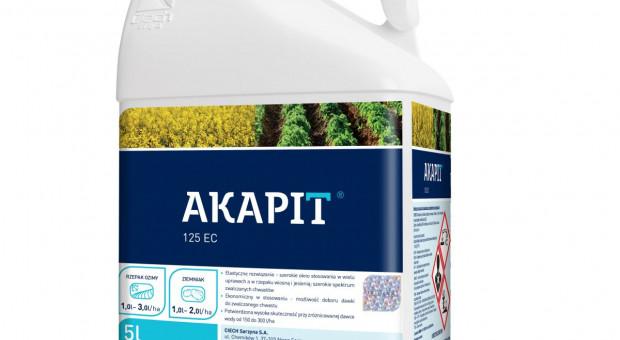 CIECH Sarzyna poszerza portfolio o herbicyd Akapit 125 EC