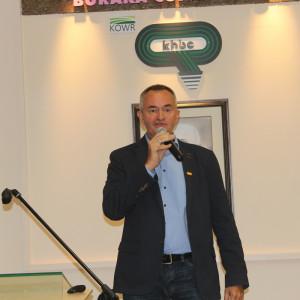 Jarosław Komar z firmy BASF Fot. A. Kobus