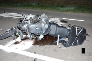Motocyklista nie przeżył zderzenia