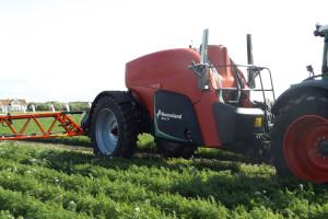 Kverneland iXtrac T6: największe opryskiwacze producenta