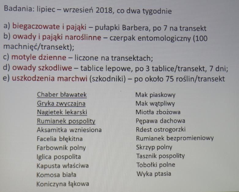 Informacje dotyczące badań i metodyki eksperymentu realizowanego przez Instytut Środowiska Rolniczego i Leśnego PAN w Juchowie.