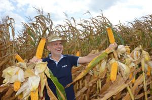 Polowe spotkania z kukurydzą Syngenta w Polanowicach; Fot. Katarzyna Szulc