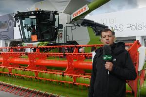 Największy kombajn w Europie na Agro Show!