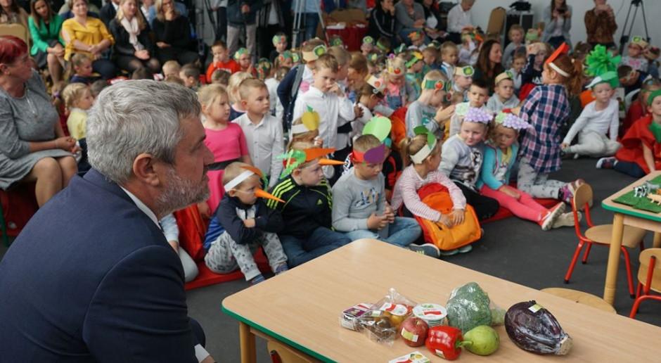 Ardanowski: Chcemy dzieciom przekazywać wiedzę o żywności ekologicznej