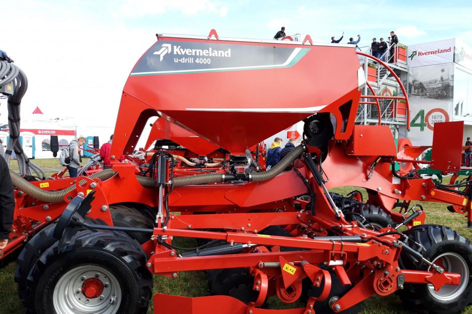 U-drill - nowy model składany hydraulicznie w szerokości roboczej 4 m