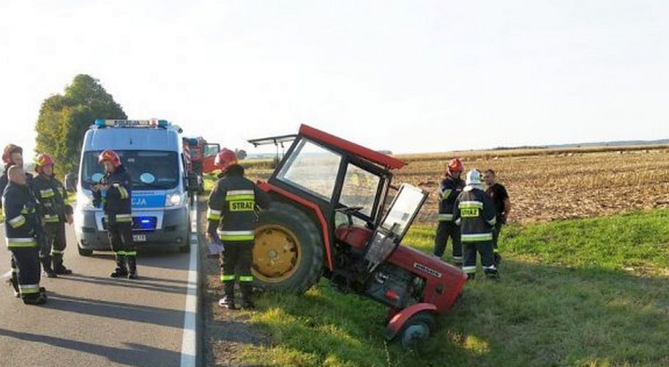 Traktorzysta miał ponad 4 promile alkoholu
