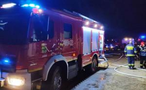 W akcji swój chrzest bojowy przeszedł nowy wóz gaśniczy OSP Janów. Strażacy otrzymali go ledwie kilka godzin wcześniej