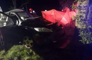 Druga ofiara śmiertelna to kierowca forda focusa