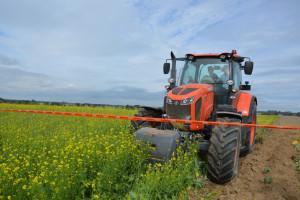 Kubota zaorała 58,09 ha w 24 godziny