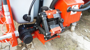 TOP 1200H – wersja z pompą napędzaną hydraulicznie