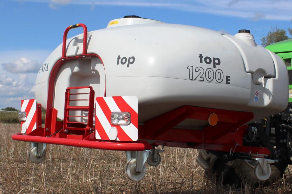 Zbiornik czołowy TOP 1200E