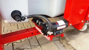 TOP 1200E – wersja z pompą napędzaną elektrycznie