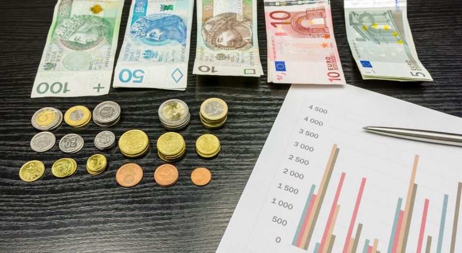 Euro do dopłat po 4.3782 zł