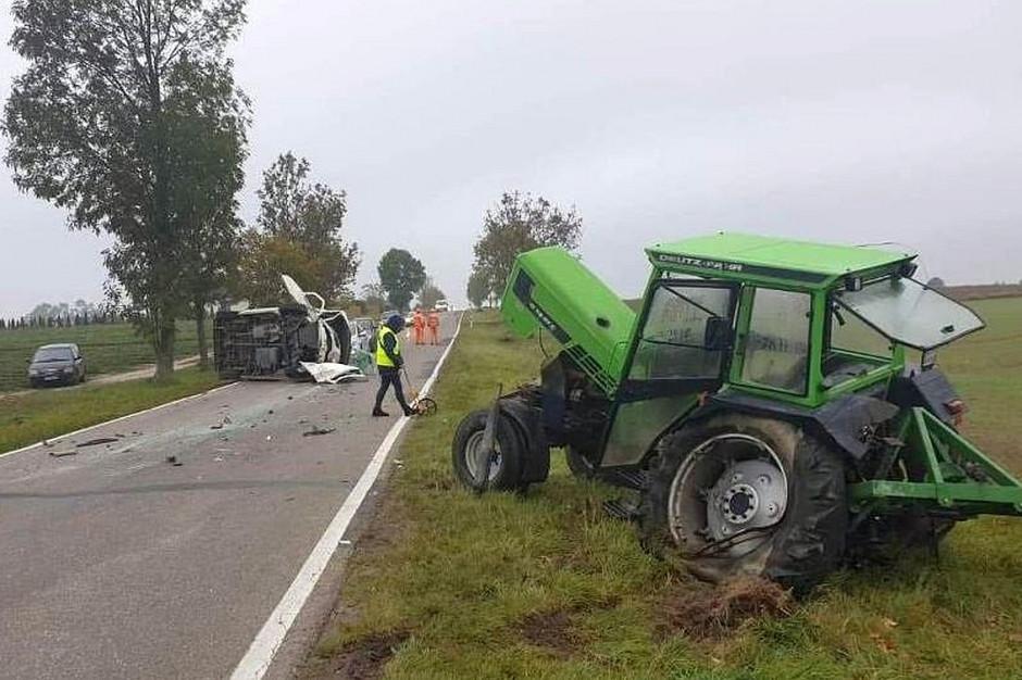 Do zderzenia doszło z winy kierowcy  volkswagena, Foto: Policja