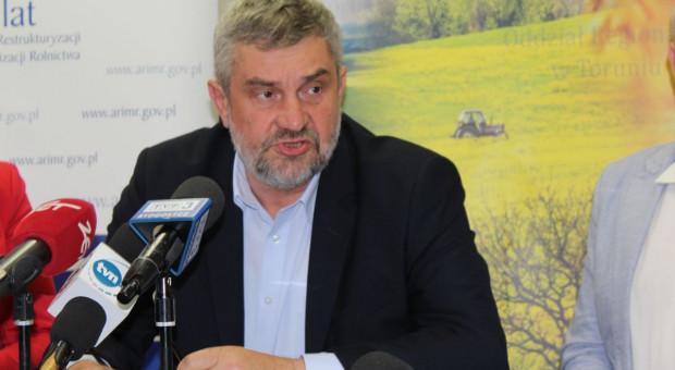 Ardanowski: Polskim rolnikom należą się dopłaty przynajmniej na poziomie średniej UE