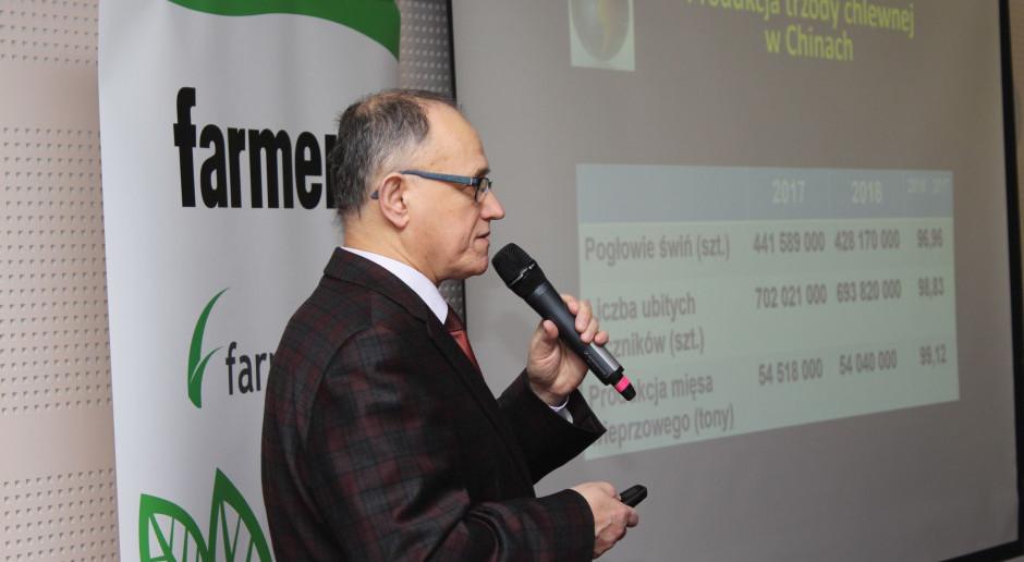 """Jaka przyszłość cen wieprzowiny? O tym dr Marian Kamyczek podczas konferencji """"Farmera"""""""