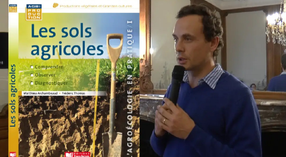Matthieu Archambeaud – niezależny ekspert ds. uprawy konserwującej na konferencji Narodowe Wyzwania w Rolnictwie