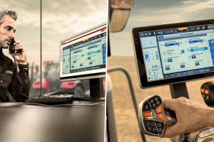 """Prawdziwą """"siłą Magnum"""" jest AFS Connect pozwalający monitorować, rejestrować i zarządzać danymi eksploatacyjnymi, polowymi oraz użytkować ciągnik w pełni automatycznie. System może też pełnić funkcję zdalnego podglądu monitora umożliwiającą dealerowi rozwiązywanie problemów oraz zdalną diagnostykę w czasie rzeczywistym"""