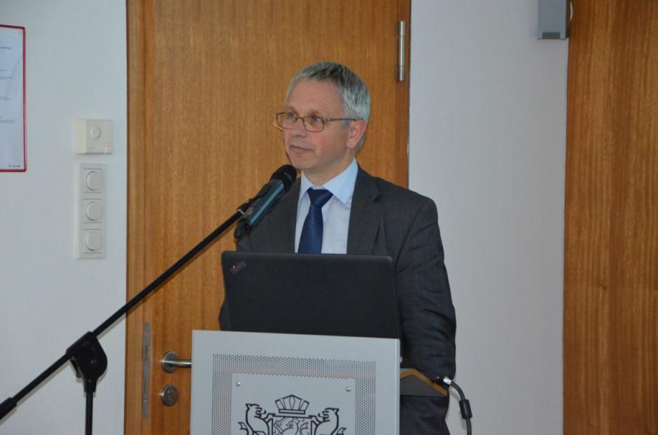 Roel Jongeneel z Uniwersytetu w Wageningen,fot. M. Tyszka