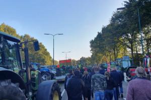Holenderscy farmerzy protestowali w Hadze. Tysiące ciągników i wojsko na ulicach