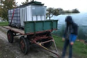 Rolnik ukradł rolnikowi przyczepę