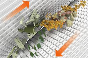Kondycjonowanie materiału w technologii Shredlage...