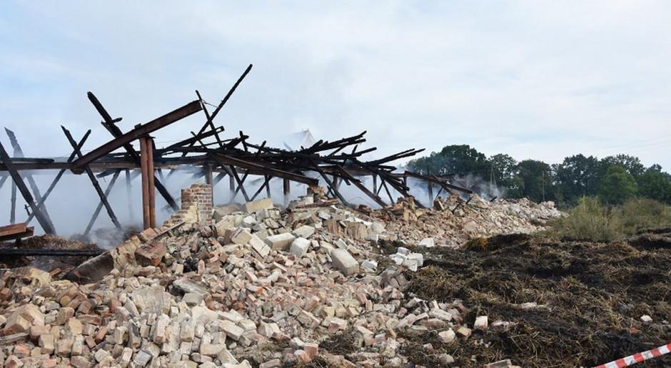 Podpalacz domu i stodoły zatrzymany. Straty na ponad 400 tys. zł