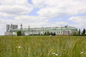 Hala produkcyjna - widok z zewnątrz