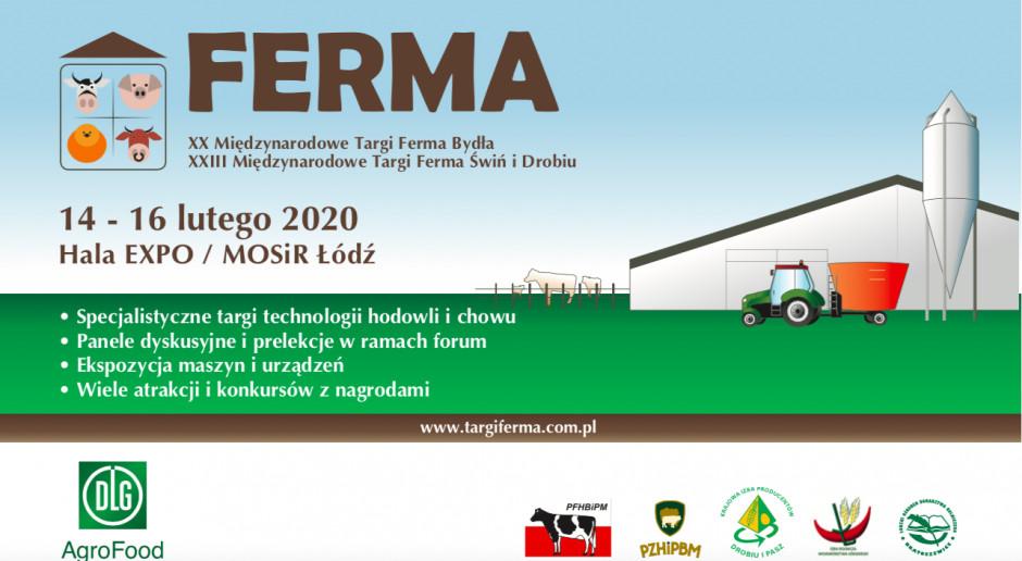 Targi Ferma – największe specjalistyczne targi dla fachowców produkcji zwierzęcej w Polsce