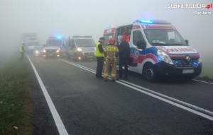 Obaj kierowcy busów trafili do szpitala