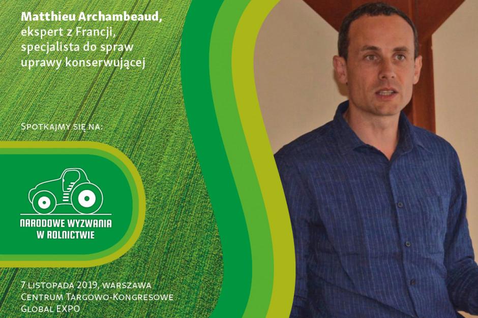 """Uprawa bezorkowa w sesji """"Bez Pługa"""" na Narodowych Wyzwaniach w Rolnictwie"""