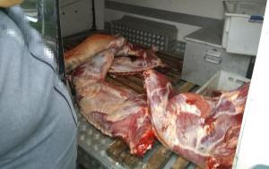 Lekarz weterynarii miał zastrzeżenia do warunków sanitarnych transportu mięsa
