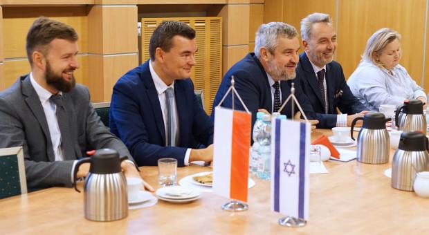 MRiRW: rozmowa o wspólpracy polsko-izraelskiej w dziedzinie rolnictwa