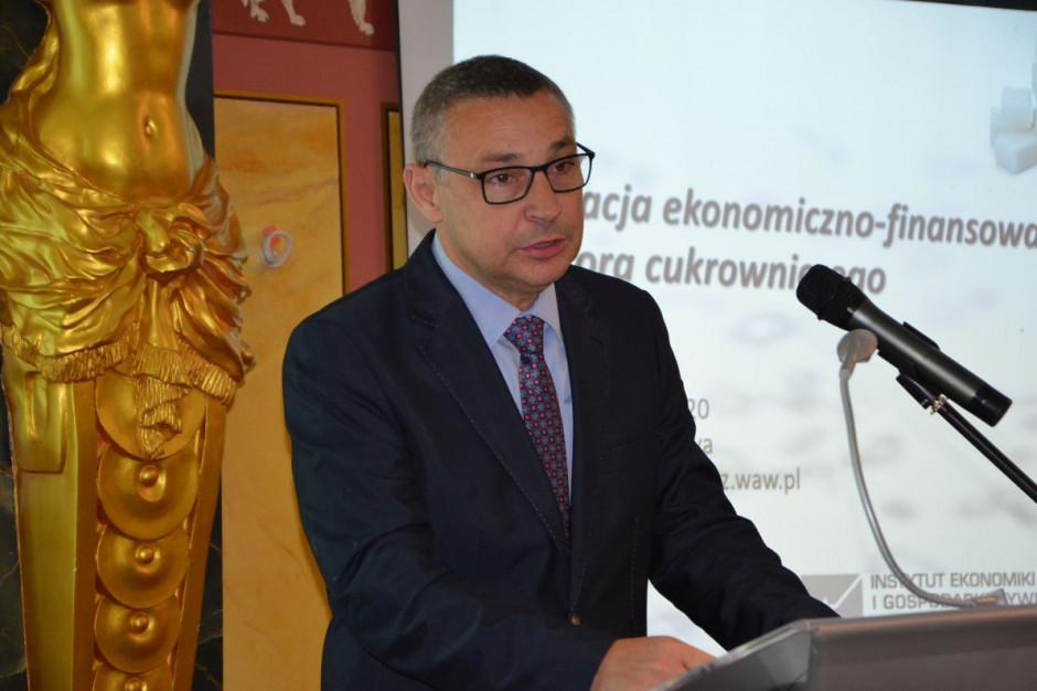 Dr Piotr Szajner z IERiGŻ, fot. M. Tyszka