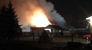 Spłonęła stodoła i sprzęt rolniczy