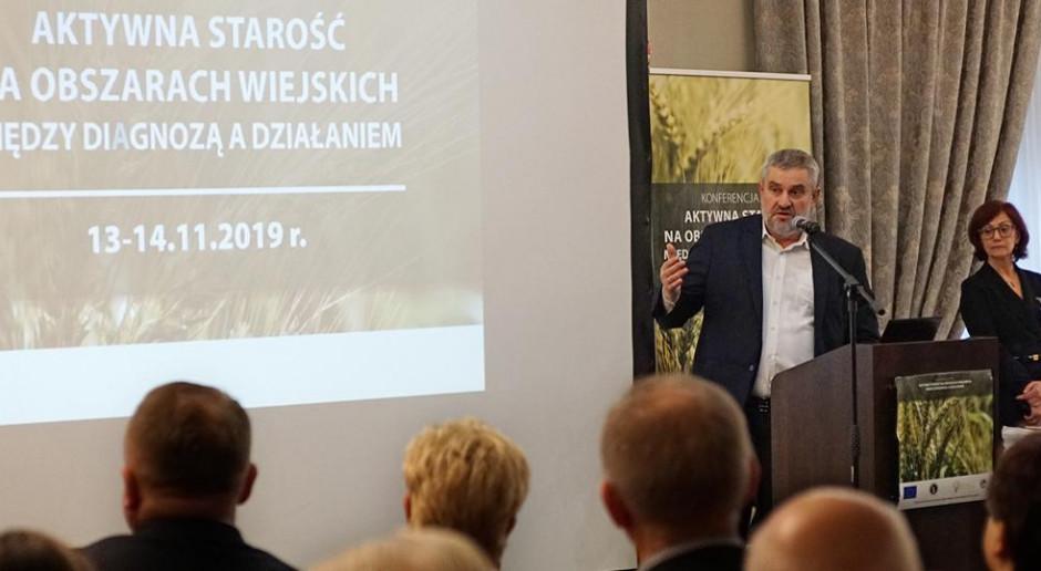 Ardanowski: obowiązkiem państwa jest pomoc rodzinom na wsi w opiece nad seniorami