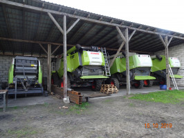 Flota maszyn CLAAS w firmie ZIEMAR