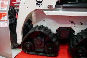 Układ jezdny prototypowych ładowarek Bobcata