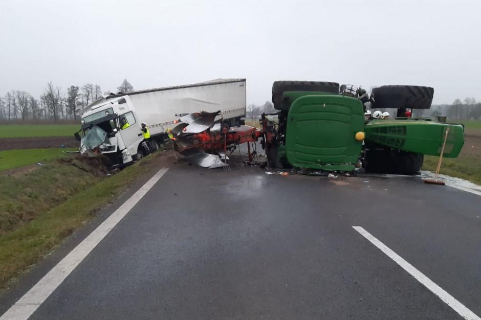 Do zderzenia doszło na drodze krajowej nr 32 w powiecie wolsztyńskim, Foto: Policja