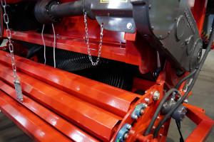Zespół podający to to rotorowa konstrukcja od podstaw stworzona przez inżynierów firmy Fliegl