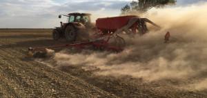 Intensywna uprawa może prowadzić do rozpylenia gleby; Fot. T. Piechota