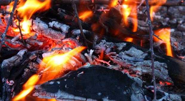 Pożar stajni i domu na Mazowszu