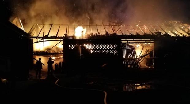 Pożary w dwóch gospodarstwach na Podkarpaciu