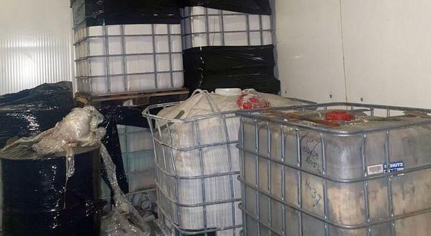 Areszt za nielegalne składowanie niebezpiecznych odpadów