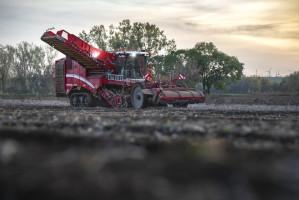 Samojezdny kombajn do zbioru ziemniaków Grimme Varitron 470 Platinum, fot. mat. prasowe