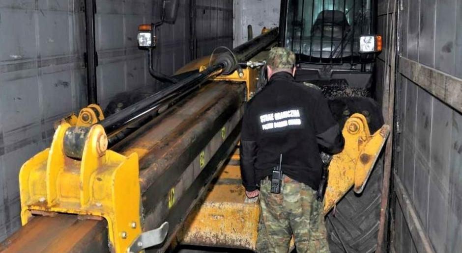 Ładowarka z Wielkiej Brytanii zatrzymana na granicy z Ukrainą