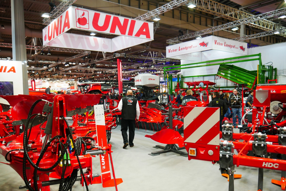 Jak co dwa lata, również i podczas tej edycji targów Agritechnica Unia zaprezentowała kilka nowych maszyn, fot. mw